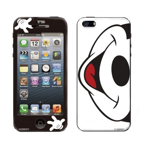 Gizmobies デザイン背面スキンシール Mouth to Mouth iPhone 5
