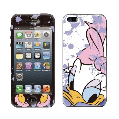 【iPhone SE/5s/5ケース】Gizmobies デザイン背面スキンシール Painting Daisy iPhone 5_0