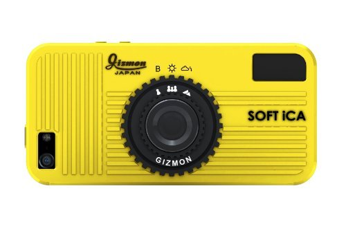 GIZMON SOFT iCA iPhone SE/5s/5 イエロー