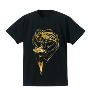 To LOVEる-とらぶる-ダークネス 箔プリントTシャツ(金色の闇) メンズ Mサイズ_1