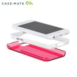 ハイブリッド タフ ネイキッド ケース ピンク /ホワイト iPhone 5cケース_3