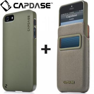 【iPhone SE ケース】アイ・ディー ポケット バリューセット グリーン/グリーン iPhone SE/5s/5ケース