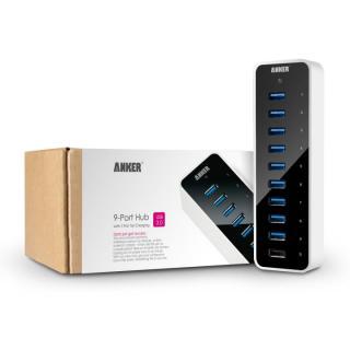 Anker USB3.0 高速9+1ポートハブ(1つ充電ポート付き: 5V/2.1A)_3