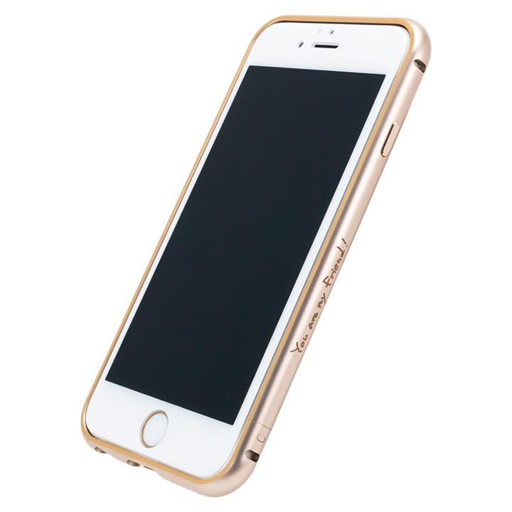 【iPhone6s/6】AppBankのメタルバンパー ゴールド×ゴールド iPhone 6s/6_0