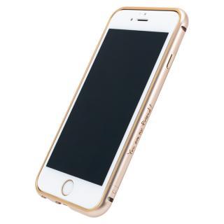 AppBankのメタルバンパー ゴールド×ゴールド iPhone 6s/6【8月下旬】