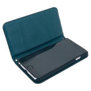 [A+リリース記念特価]A+ 手帳型ケース ブラック×ディープグリーン iPhone 6s/6