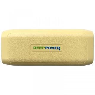 [4000mAh]軽量小型約119g DEEP POWER DP-S411 大容量 モバイルバッテリー イエロー