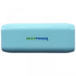 [4000mAh]軽量小型約119g DEEP POWER DP-S411 大容量 モバイルバッテリー ブルー