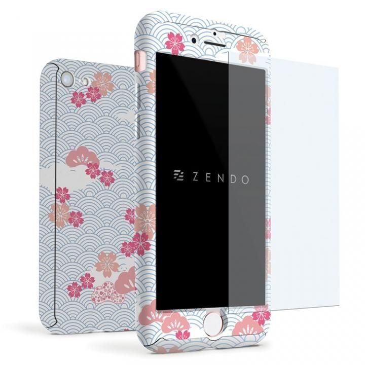 【iPhone7ケース】ZENDO NanoSkin EX ハードケース 和柄 波 iPhone 7_0