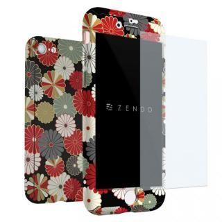 ZENDO NanoSkin EX ハードケース 和柄 菊 iPhone 7【7月下旬】