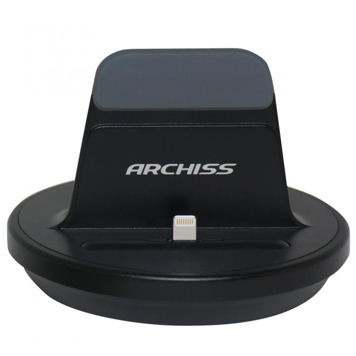 iPhone用充電スタンドARCHISS i-STAND BY ME ブラック_0