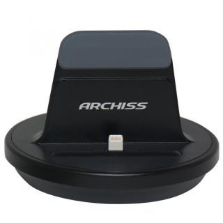 [新iPhone記念特価]iPhone用充電スタンドARCHISS i-STAND BY ME ブラック