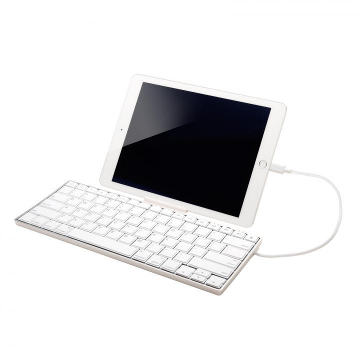 iPad専用 Lightning接続キーボード ARCHISS i-ProgresTouch シルバー_0