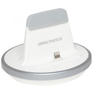 [百花繚乱セール]iPhone用充電スタンドARCHISS i-STAND BY ME ホワイト
