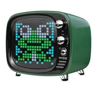 レトロテレビ型スピーカー Tivoo グリーン