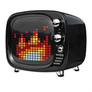 レトロテレビ型スピーカー Tivoo ブラック
