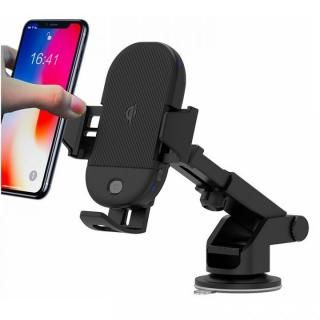 エンジン切っても自動開閉 Infrared Sensor Qi Wireless Car Mount