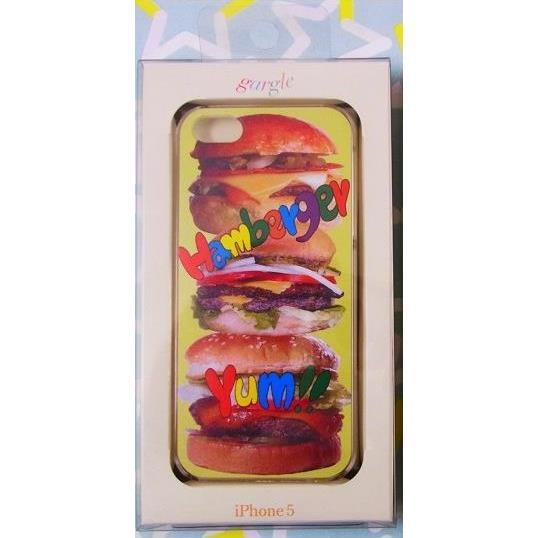 iPhone SE/5s/5 ケース ハンバーガーデザインケース iPhone SE/5s/5_0