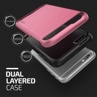 【iPhone6s/6ケース】プラスチック×TPU2層構造耐衝撃ケース VERUS Verge ローズ・ピンク iPhone 6/6s_3