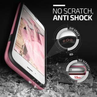 【iPhone6s/6ケース】プラスチック×TPU2層構造耐衝撃ケース VERUS Verge ローズ・ピンク iPhone 6/6s_4