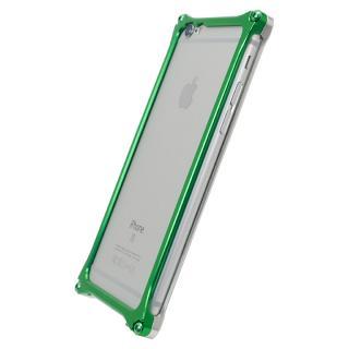 [2018年新春特価][AppBank Store オリジナル]ソリッドバンパー シルバー×アースグリーン iPhone 6s Plus/6 Plus