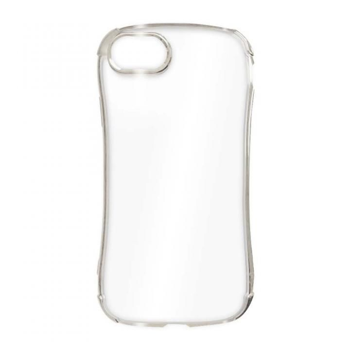 iPhone8/7 ケース GLINTING PLATE CASE White Argentum iPhone SE 2/8/7_0