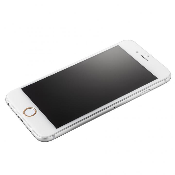 Extra by GRAMAS 全面保護強化ガラス ホワイト iPhone 6s/6