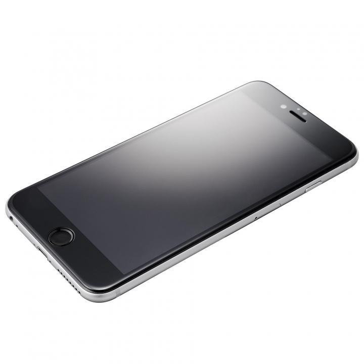 【iPhone6s/6フィルム】Extra by GRAMAS 全面保護強化ガラス クリアハードケース付き ブラック iPhone 6s/6_0