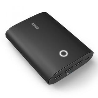 [夏フェス特価][12800mAh]Anker Astro3 第2世代 モバイルバッテリー ブラック PowerIQ搭載【7月下旬】