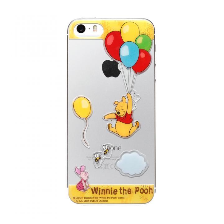 iPhone SE/5s/5 ディズニー デコレーションステッカー くまのプーさん iPhone SE/5s/5 スキンシール_0