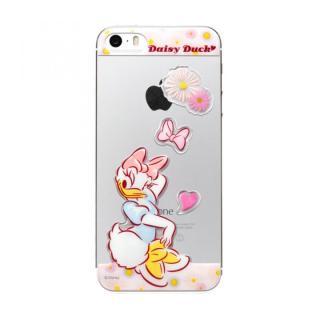 ディズニー デコレーションステッカー デイジーダック iPhone SE/5s/5 スキンシール