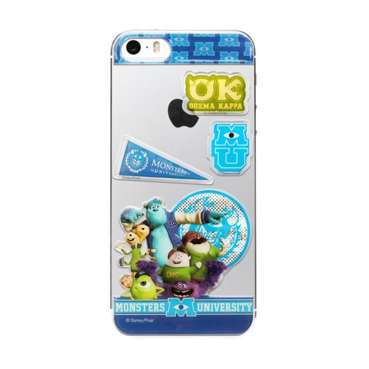 iPhone SE/5s/5 ディズニー デコレーションステッカー モンスターズユニバーシティ iPhone SE/5s/5 スキンシール_0