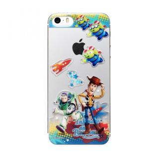 ディズニー デコレーションステッカー トイストーリー iPhone SE/5s/5 スキンシール