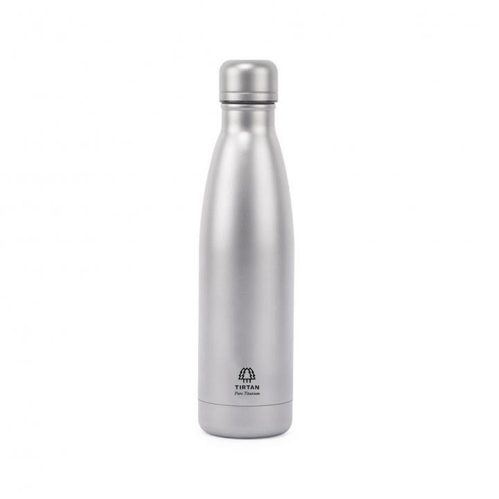 TIRTAN タータン 純チタン製真空ボトル 500ml サンドブラスト【8月上旬】_0
