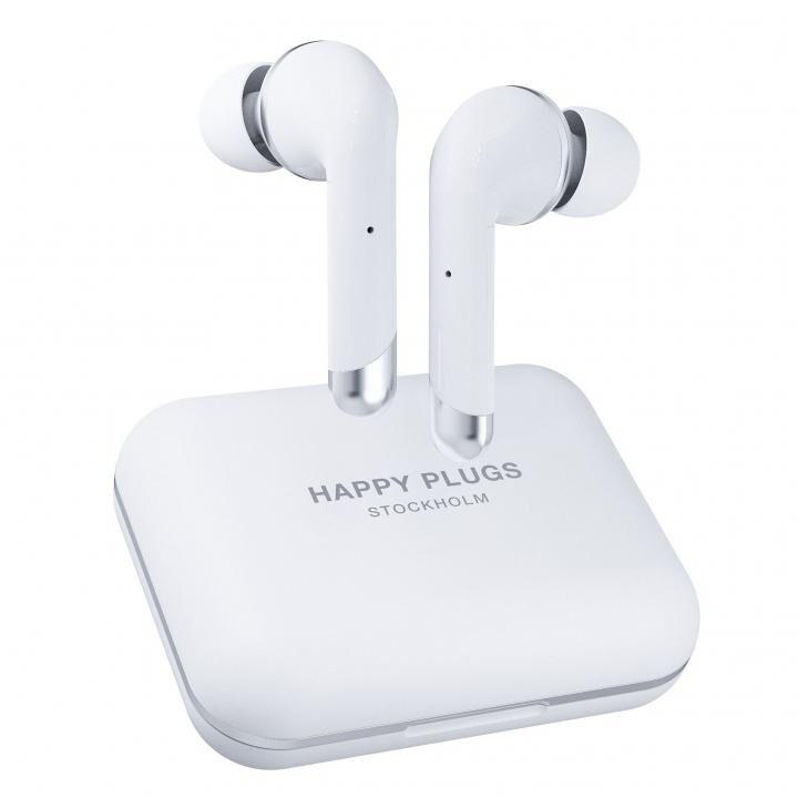 happy plugs AIR 1 PLUS IN-EAR 完全ワイヤレスイヤホン ホワイト_0