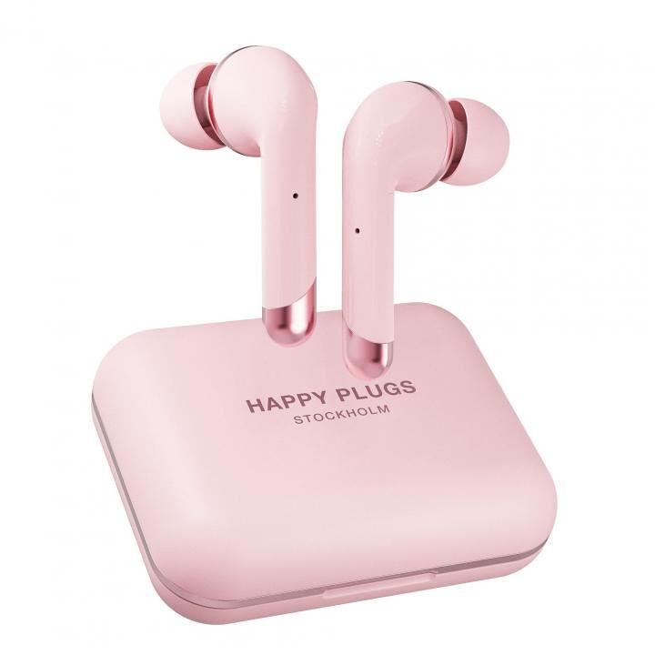 happy plugs AIR 1 PLUS IN-EAR 完全ワイヤレスイヤホン ピンクゴールド_0