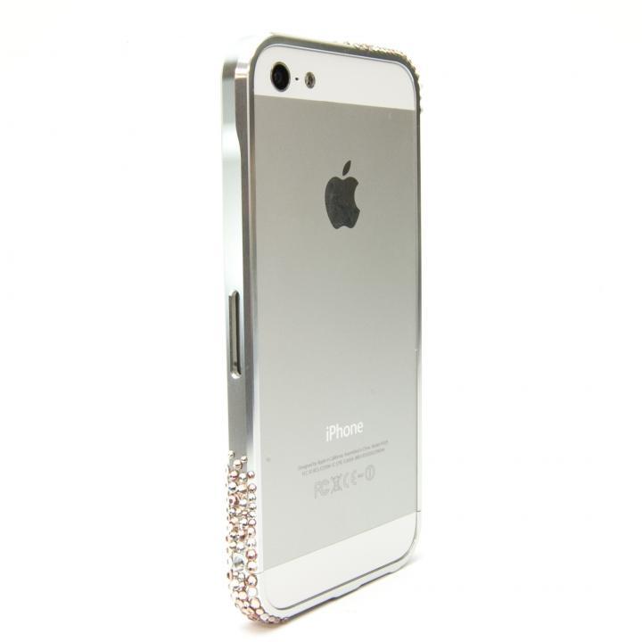 【iPhone SE/5s/5ケース】SWORDα SS Version スワロフスキー シャープシルバー iPhone SE/5s/5ケース_0