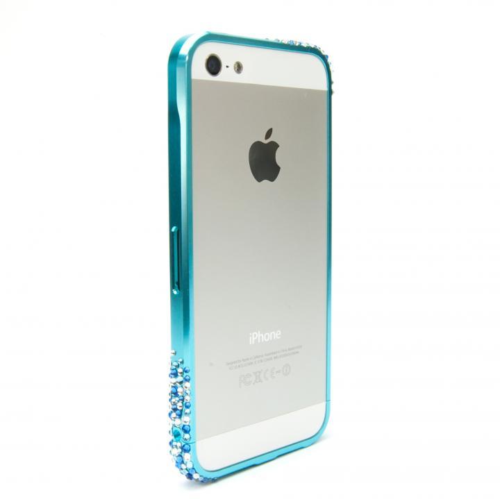 iPhone SE/5s/5 ケース SWORDα SS Version スワロフスキー オリオンブルー iPhone SE/5s/5ケース_0
