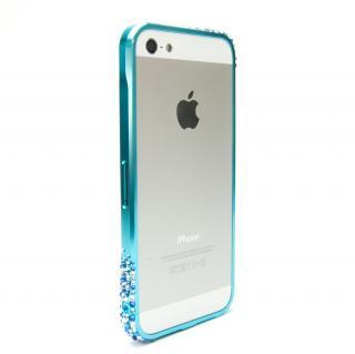 SWORDα SS Version スワロフスキー オリオンブルー iPhone SE/5s/5ケース