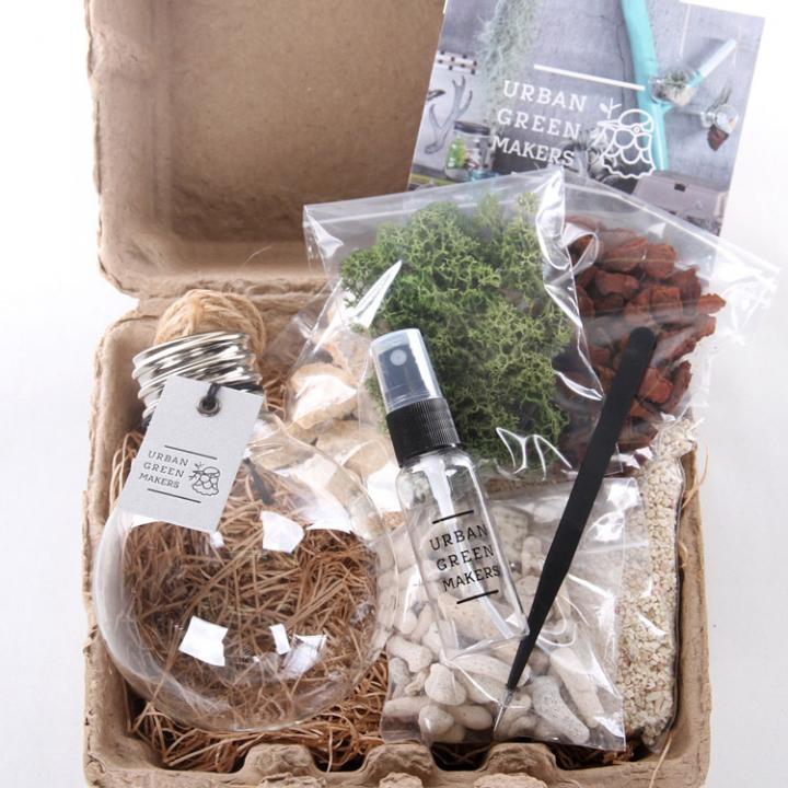 URBAN GREEN MAKERS キット2 電球形容器_0