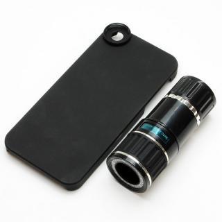 【iPhone SE/5s/5】12倍望遠レンズ付き iPhone SE/5s/5ケース 三脚セット_2