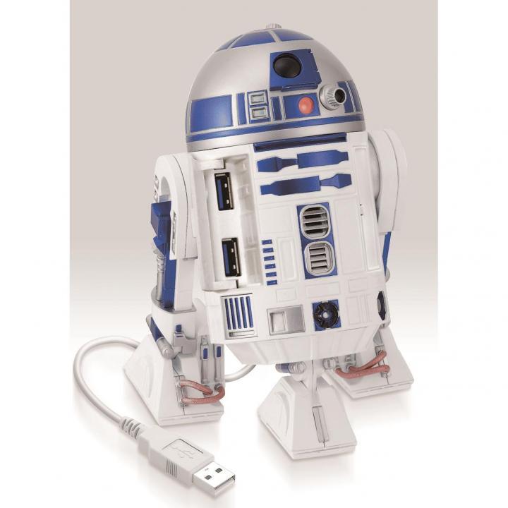 スター・ウォーズ R2-D2 4ポートUSBハブ