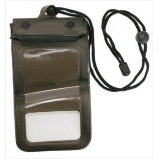 IPX8規格 スマートフォン用防水ケース」 ブラック 多機種(iPhone/Andoroid)対応