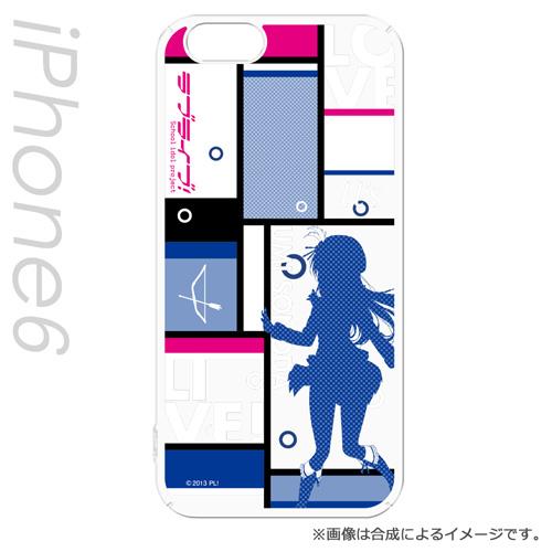 iPhone6s/6 ケース ラブライブ! ハードケース 園田 海未 シルエットVer iPhone 6s/6_0