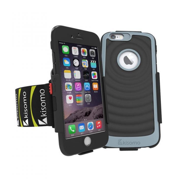 【iPhone6s/6ケース】Energia ケース一体型アームベルト ブラック iPhone 6s/6_0