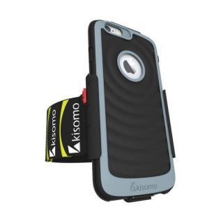 【iPhone6s/6ケース】Energia ケース一体型アームベルト ブラック iPhone 6s/6_1