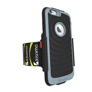 【iPhone6s/6ケース】Energia ケース一体型アームベルト ブラック iPhone 6s/6_3