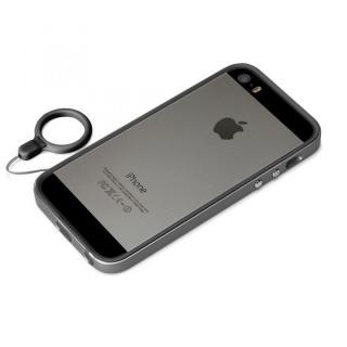138ccfa899 iPhone SE/5s/5ケース】ハイブリッド2層構造バンパー ブラック iPhone SE ...