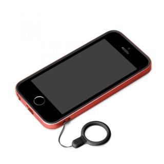 ハイブリッド2層構造バンパー レッド iPhone SE/5s/5バンパー