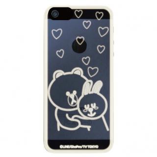 LINE フラッシュフィルムiPhone5(B&C LOVE)